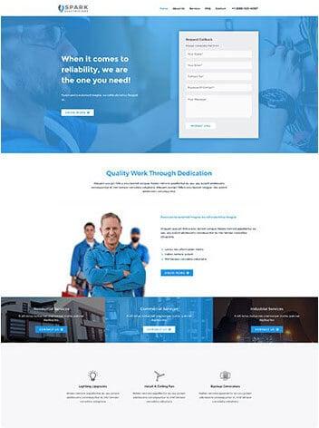 Mechanicsburg Web Design Electrician