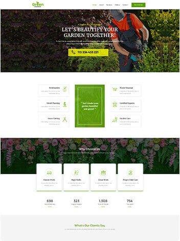 Harrisburg Web Design gardener