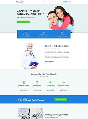 Harrisburg Web Design Dental Clinic